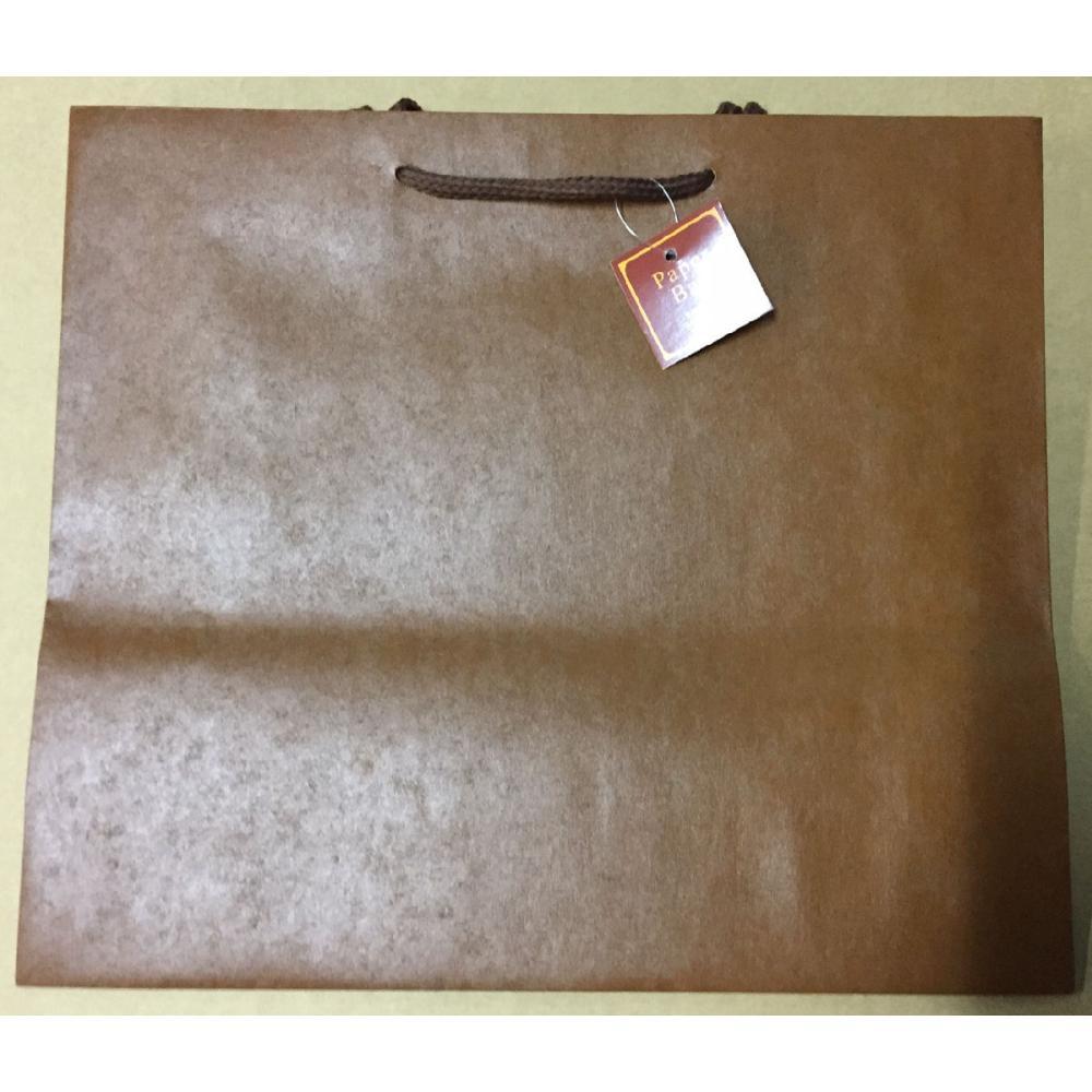 エヒメ紙工 ペーパーバッグ M 茶