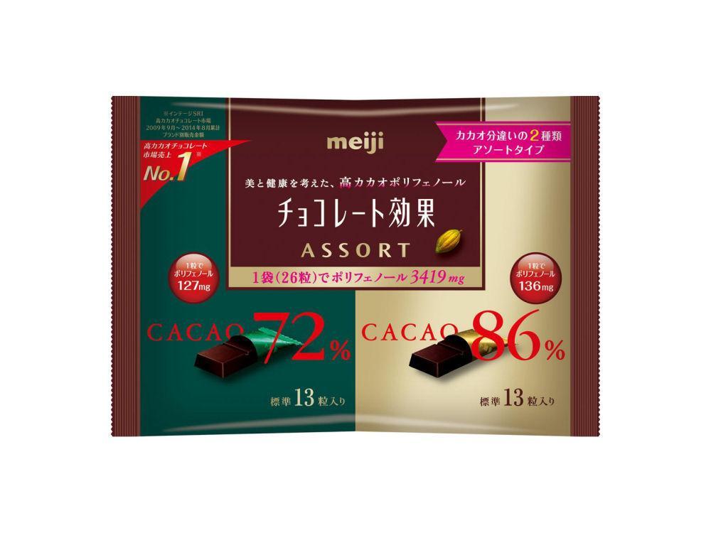 明治 チョコレート効果袋 13...