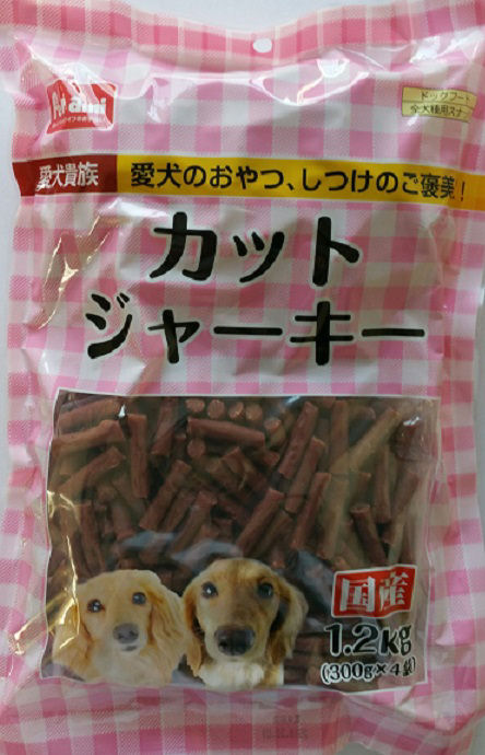 Pet ami カットジャーキー 1.2kg