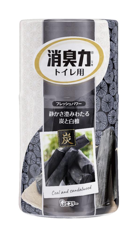エステー トイレの消臭力 炭と白檀の香り 400ml