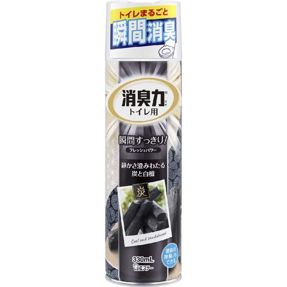 エステー 消臭力スプレー トイレ用 炭と白檀の香り 330ml