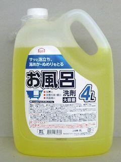 コメリセレクト 業務用お風呂洗剤 4L
