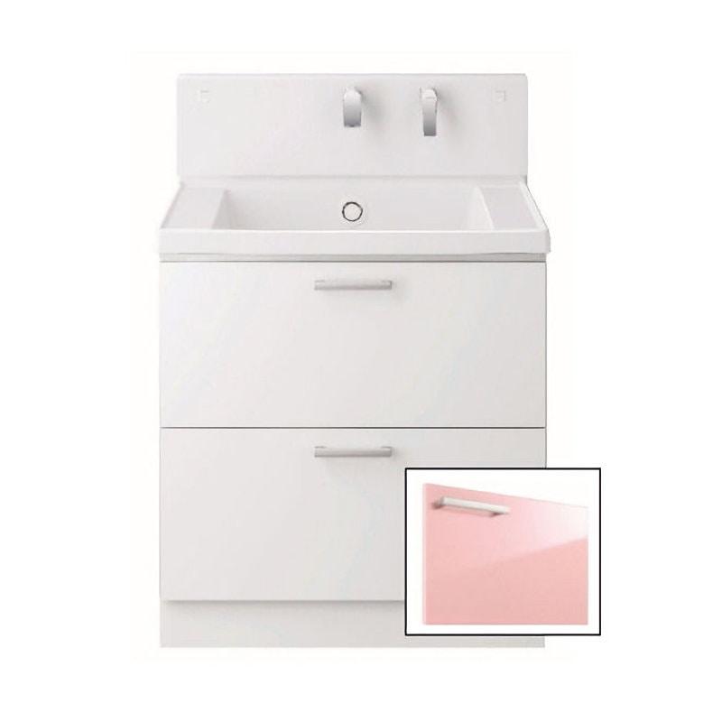 TOTO 洗面化粧台(KZ) 間口600 2段引出 パナシェピンク LDCC060BCGGG1P