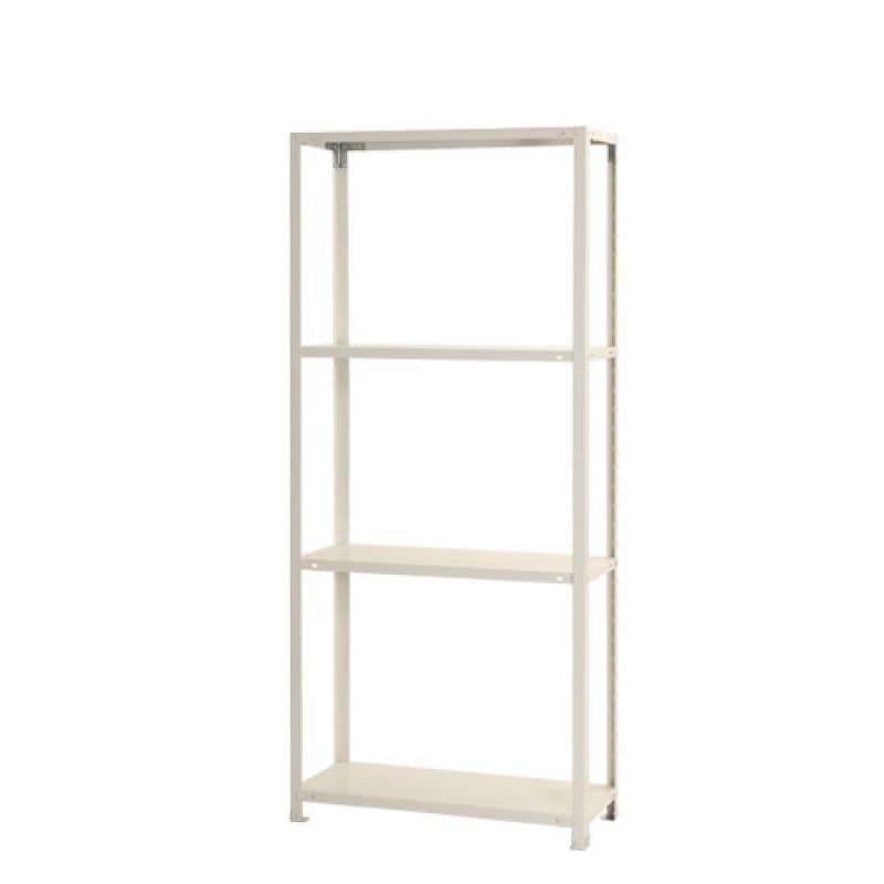 北島 スマートラック 4段 ホワイト NSTR654