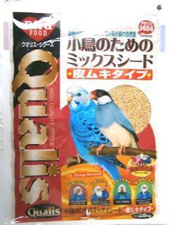 クオリス 小鳥のためのミックスシード 皮むきタイプ 3.6kg