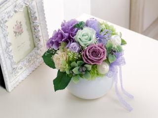 プリザーブドフラワー 紫苑