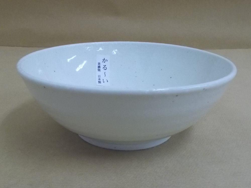粉引 軽量鉢 17cm 美濃焼
