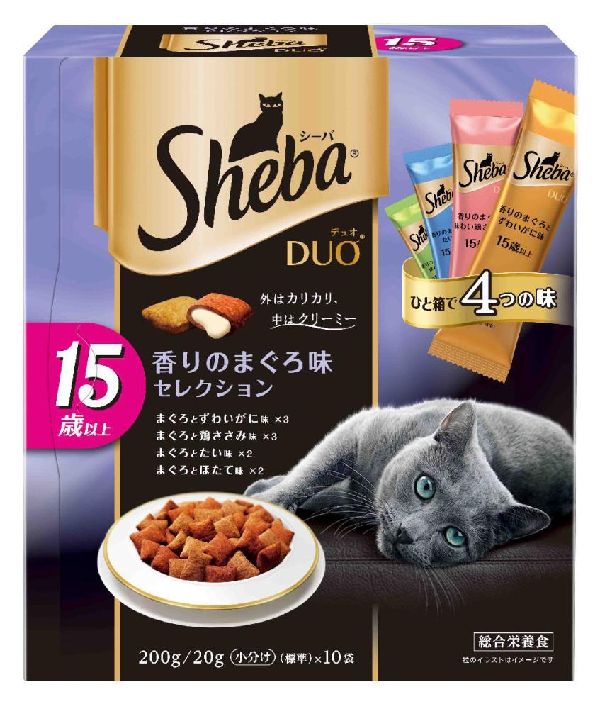 シーバデュオ 15歳以上用 まぐろ味セレクション200g