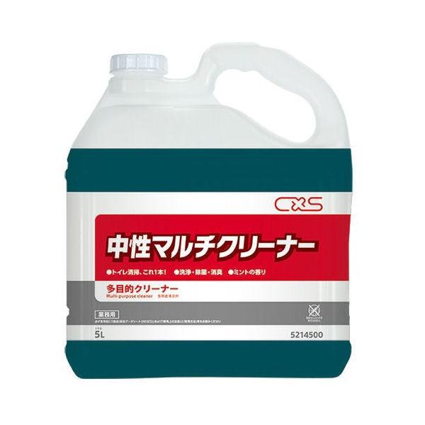 シーバイエス トイレルーム用洗剤 中性マルチクリーナー 5L