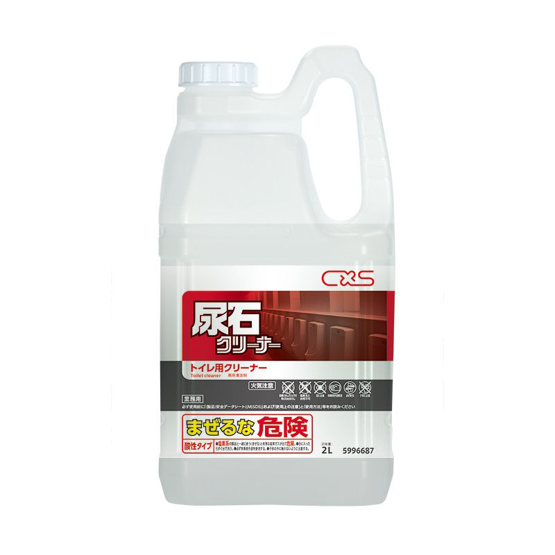 シーバイエス トイレルーム用洗剤 尿石クリーナー 2L