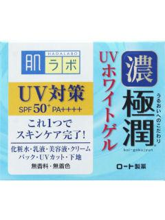 ロート製薬 肌研 極潤 UVホワイトゲル SPF50+ PA++++ 90g