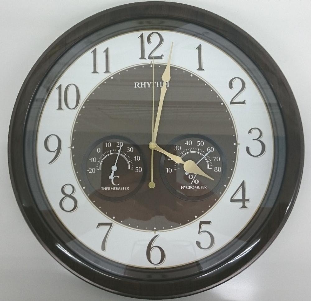 コメリセレクト 木目調掛時計 8MGA38
