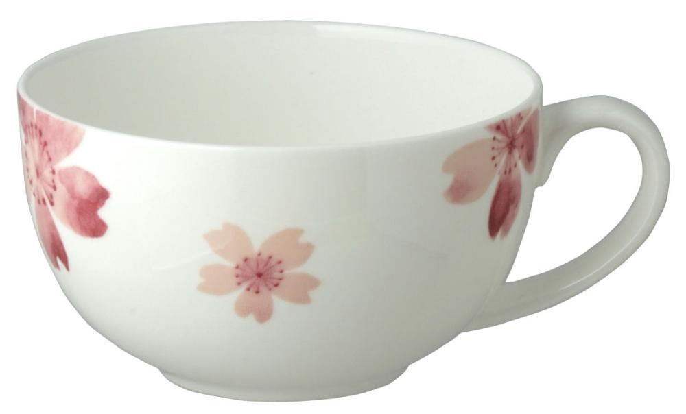 桜 ボーンチャイナ スープカップ