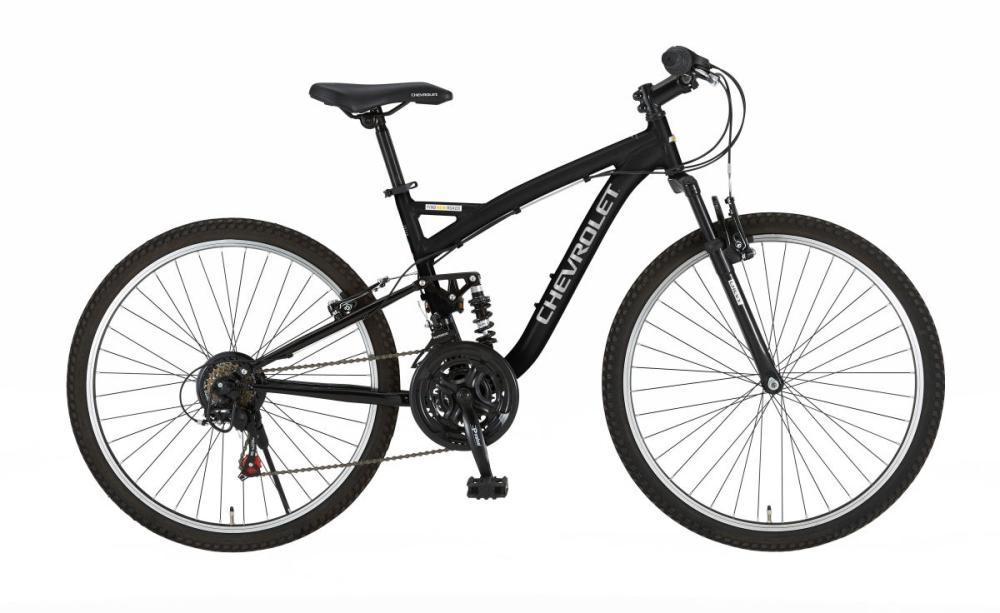 シボレー 26型マウンテンバイク 18段 ブラック