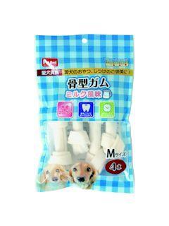 Pet ami 愛犬貴族骨型ガム ミルク風味 M 4本入