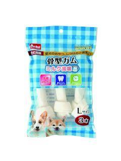 Pet ami 愛犬貴族骨型ガム ミルク風味 L 3本入