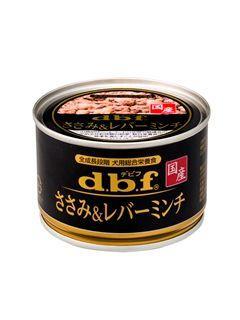 dbf デビフ缶 ささみ&レバーミンチ 150g