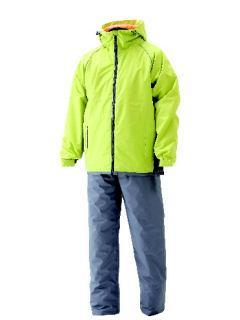 防水防寒スーツ ライムイエロー 各サイズ