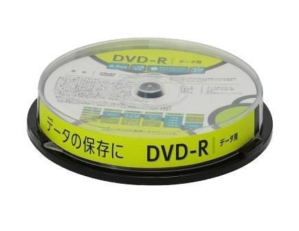 グリーンハウス DVD-R 16倍速データ用 10枚
