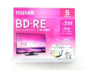 日立マクセル ブルーレイディスク 録画用 BD-RE 各種