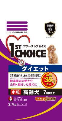 アース ファーストチョイス 高齢犬ダイエット小粒 2.7kg
