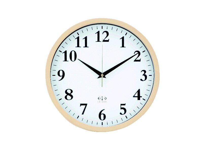 電波掛け時計 #7969 ナチュラル