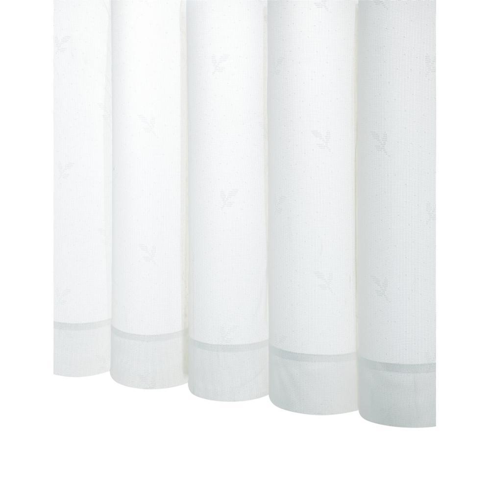 アテーナライフ 抗菌レースカーテン ブリーズ ホワイト 幅100cm 2枚組 各サイズ