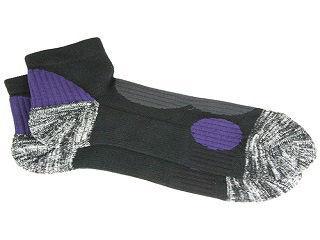 安全靴ソックスSTRONG ブラック/パープル 各サイズ