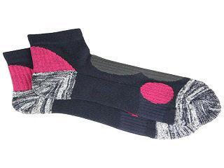 安全靴ソックスSTRONG ネイビー/ピンク 各サイズ
