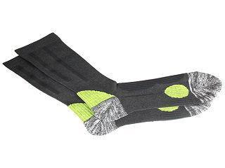 安全靴ソックスSTRONG グレー/グリーン 各サイズ