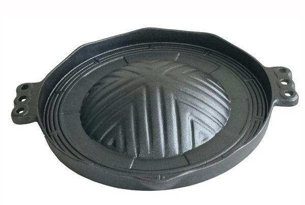 鉄鋳物 焼肉・ジンギスカン鍋 29cm