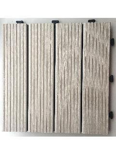 ジョイントデッキ エコ木粉 30×30cm アイボリー