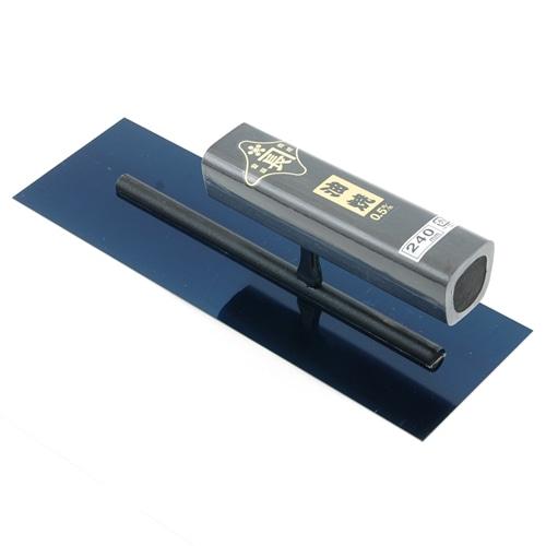 角鏝 油焼0.5黒塗角柄 240MM リベットレス