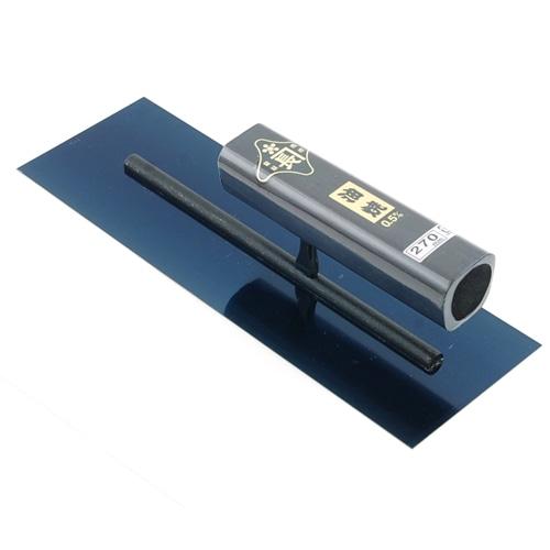 角鏝 油焼0.5黒塗角柄 270MM リベットレス