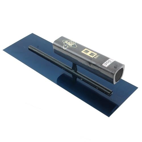 角鏝 油焼0.5黒塗角柄 300MM リベットレス