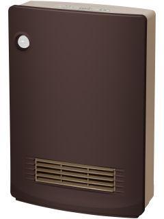 山善 人体感知センサー付 消臭セラミツクファンヒーター KDSF VB0816(T) ブラウン