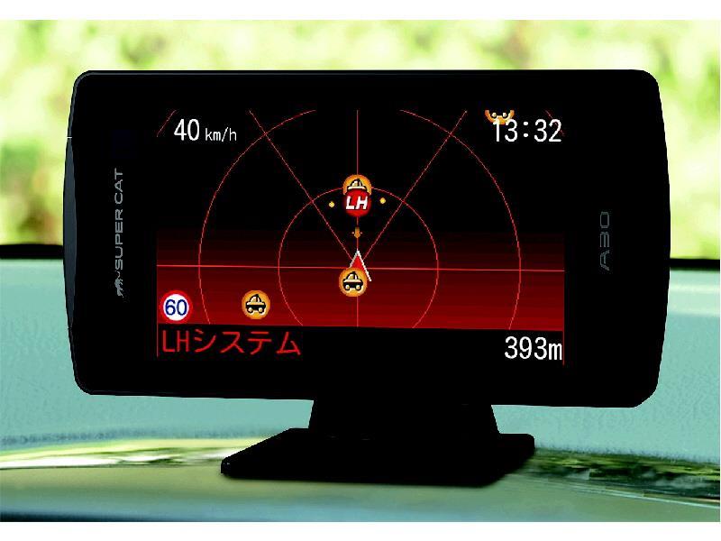 ユピテル 液晶画面付GPSレーダー A30