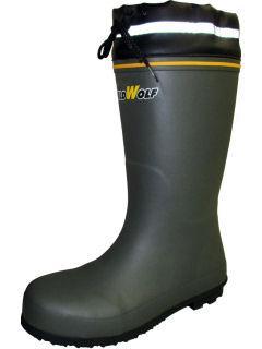 耐油アルカリ安全長靴 RTA7000 グレー 各サイズ