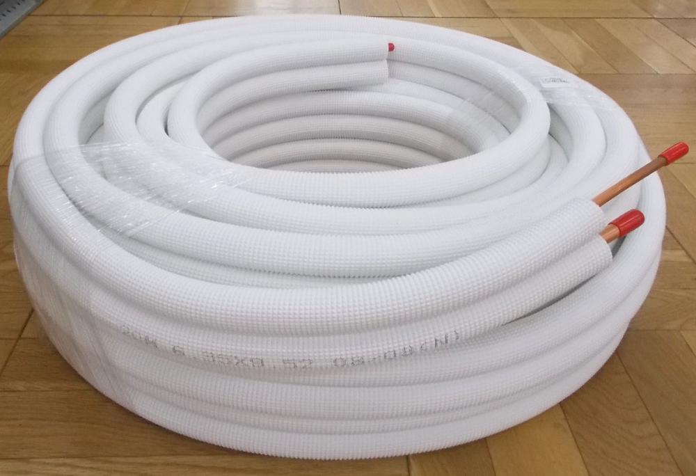 メック エアコン用被覆銅管 ぺアコイル M-P2320 20m