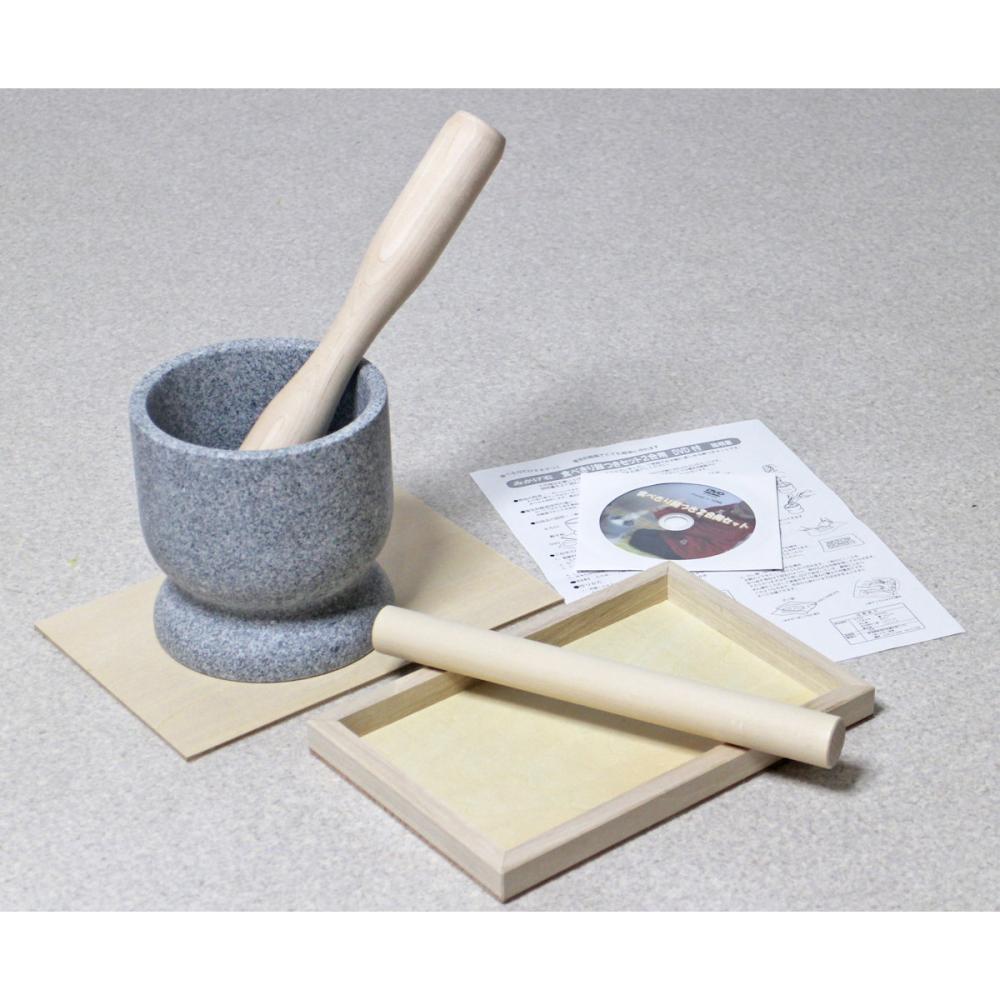 みかげ石餅つきセット(食べ切り2合用) DVD付