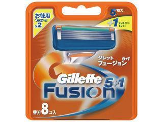 P&G ジレット フュージョン5+1 替刃8個入