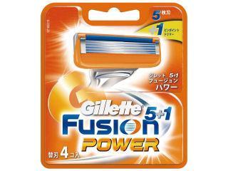 P&G ジレットフュージョン パワーホルダー 替刃4個入