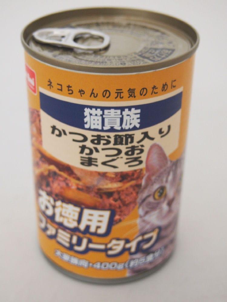 Petami 猫貴族 かつおまぐろかつお節入 400g