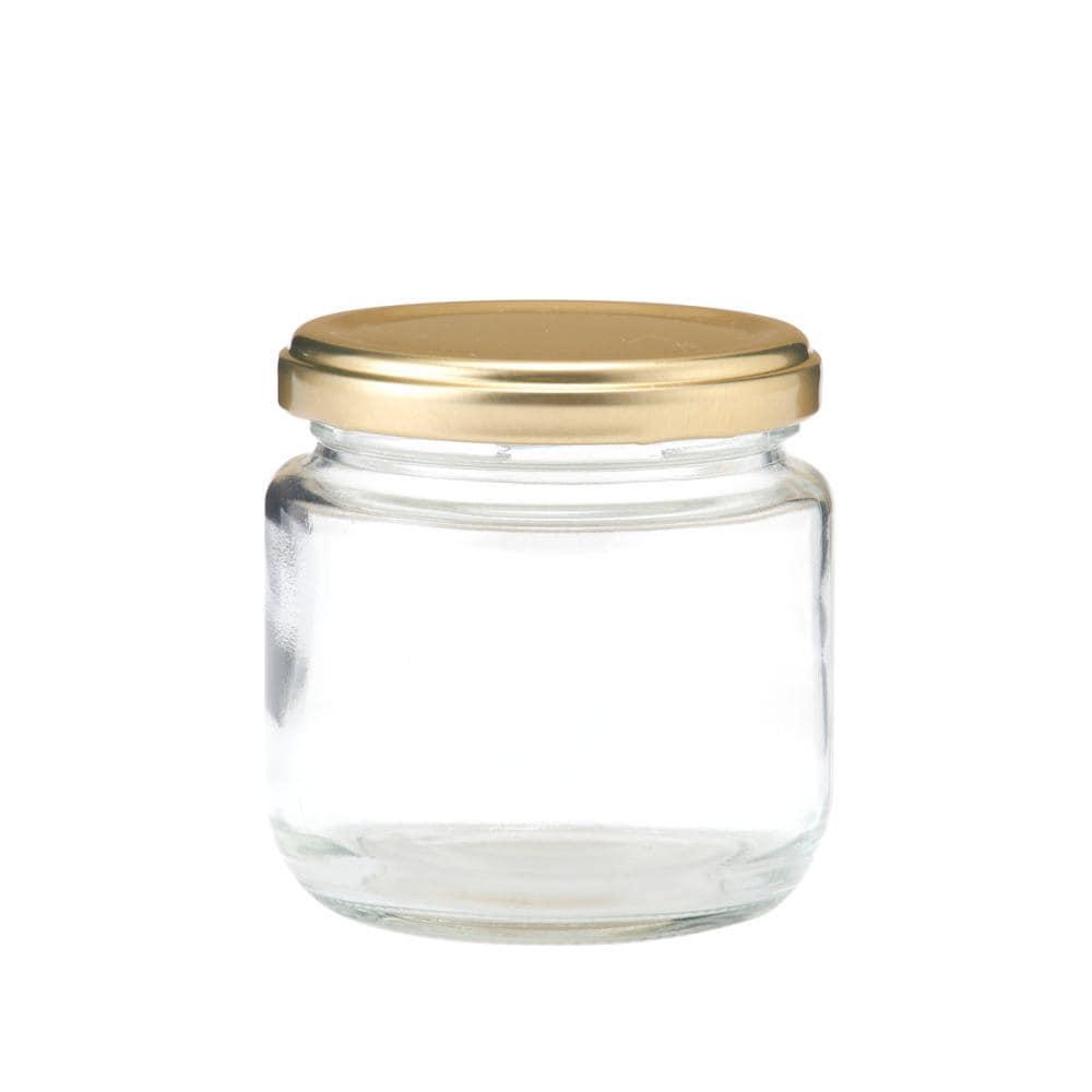 ジャム瓶 ゴールドキャップ付 各種
