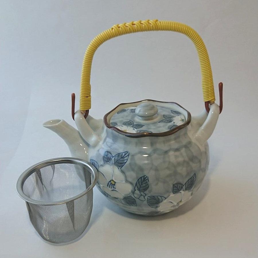 田村陶器 土瓶 一珍 ダミ花 6号