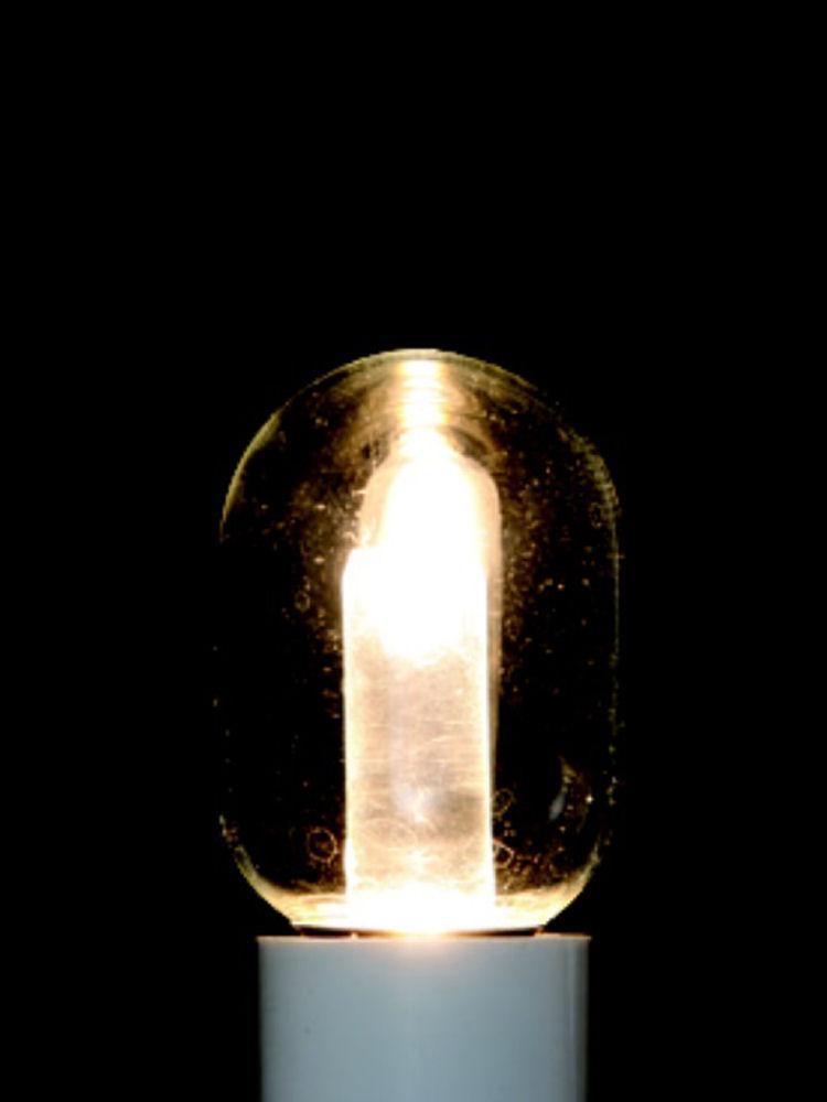 LED電球ナツメ形 クリア 電球色 E12