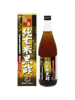 国産 純玄米黒酢 720ml