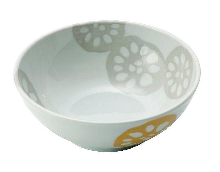 レンコン黄 軽量鉢12cm