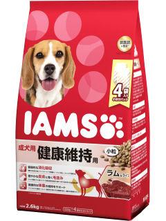 アイムス 成犬用 健康維持用 ラム&ライス小粒 2.6kg