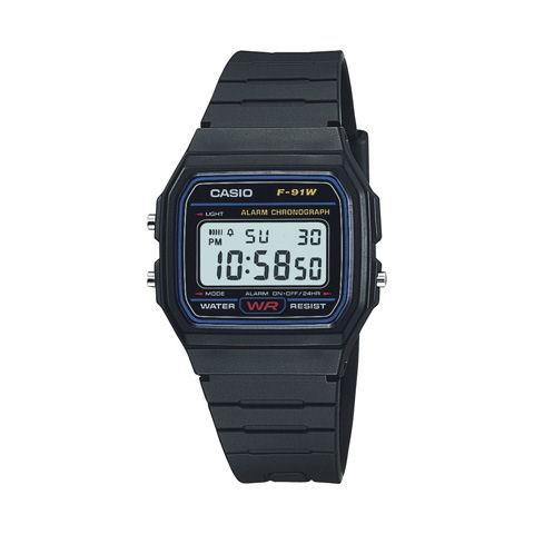 カシオ デジタル腕時計 F-91W-1JF